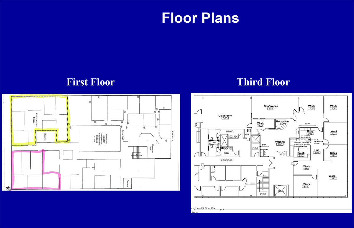 3630 Sinton Road - Floor Plan