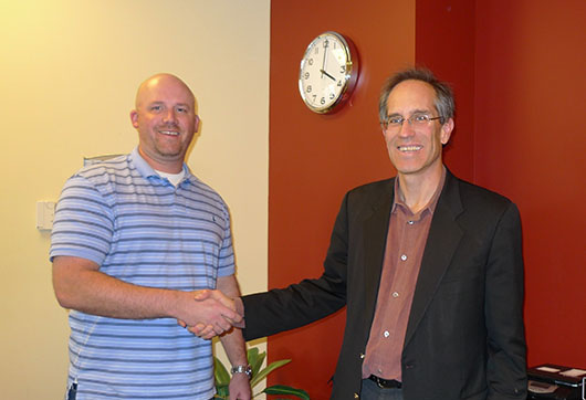 Ty Shandy happy about saving $75,000 on Shandy's Clinic's second location's lease